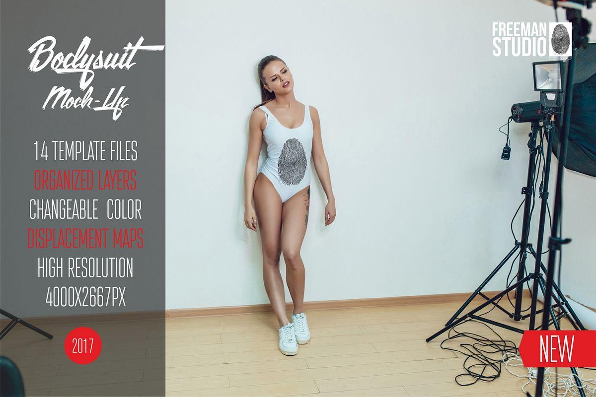 Bodysuit Mock-Up 2017 Vol.2 example image 1