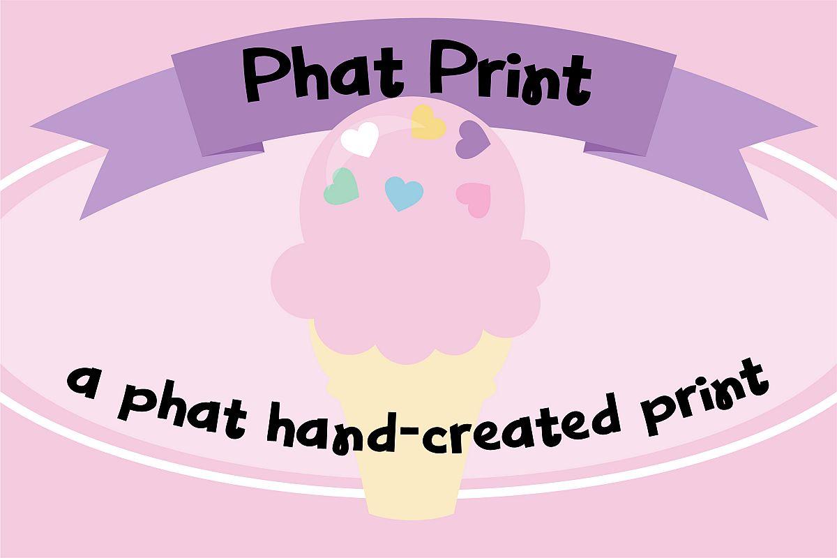 PN Phat Print example image 1