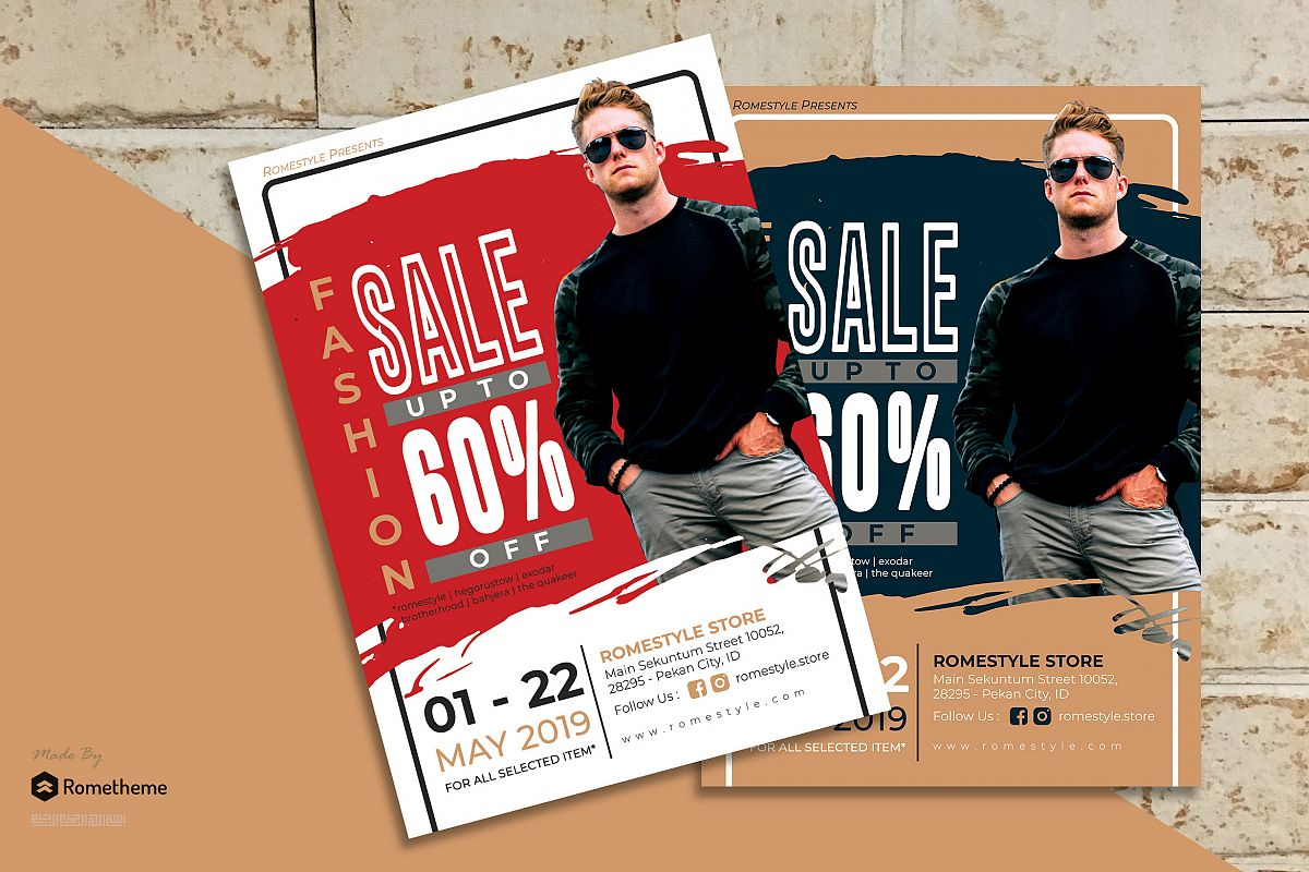 Fashion Sale Flyer vol. 08 example image 1