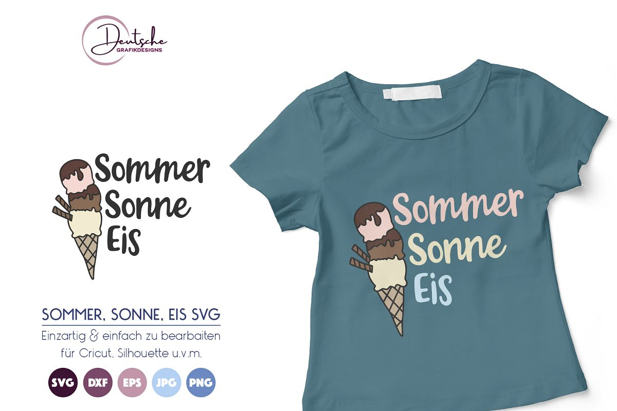 Sommer, Sonne, Eis SVG example image 1