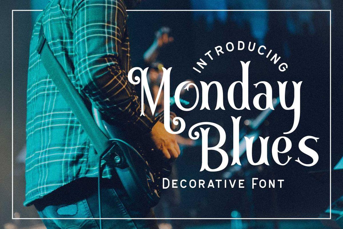 Monday Blues example image 1