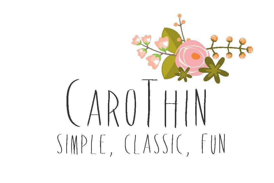 Carothin Font example image 1