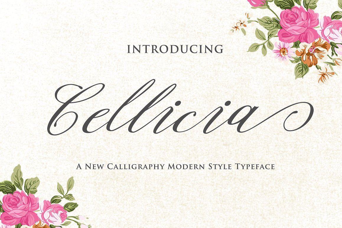 Cellicia Script example image 1