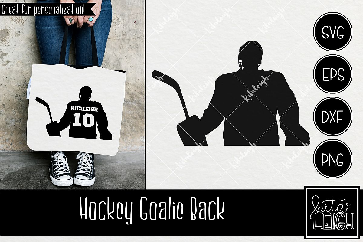Hockey Goalie Silhouette
