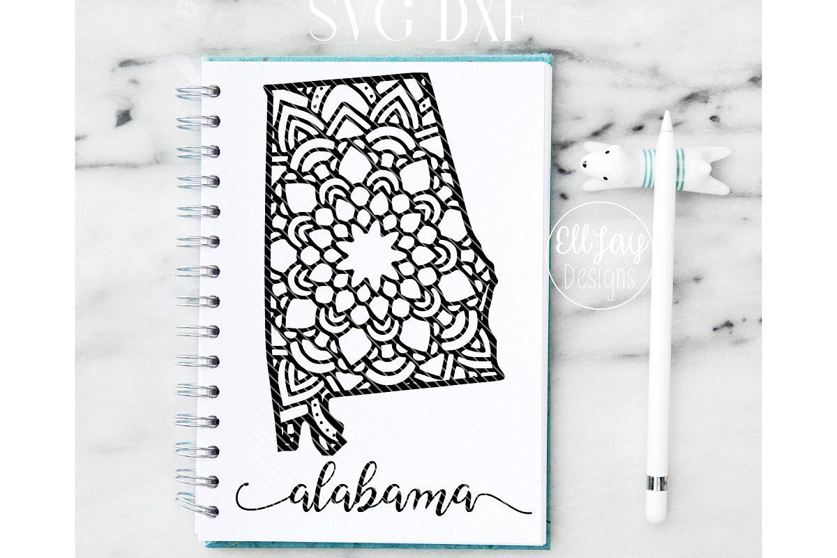 Alabama Mandala  example image 1