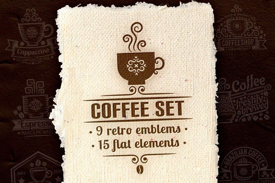 Coffee set example image 1