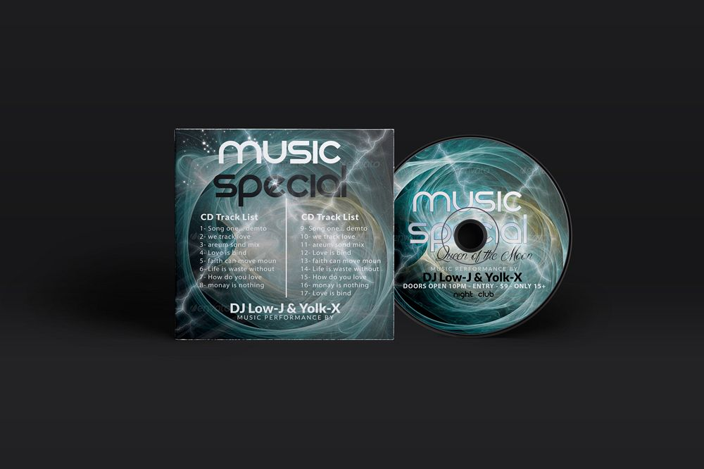 Music CD Cover  example image 1