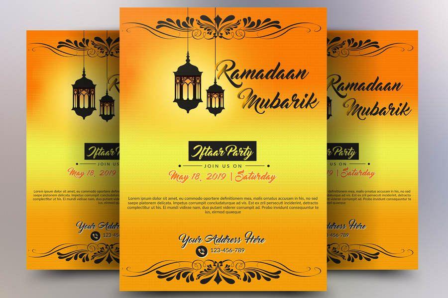 Ramdaan Mubarik Flyer example image 1