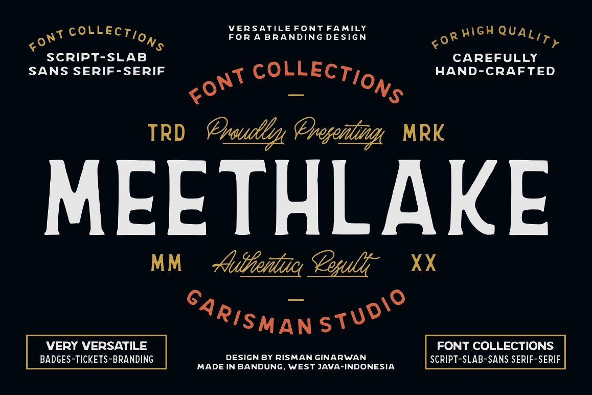 Meethlake Typeface example image 1