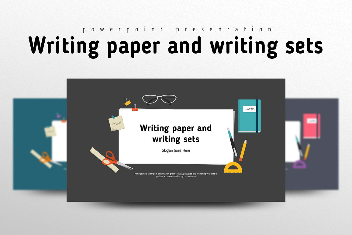 School Supplies PPT example image 1