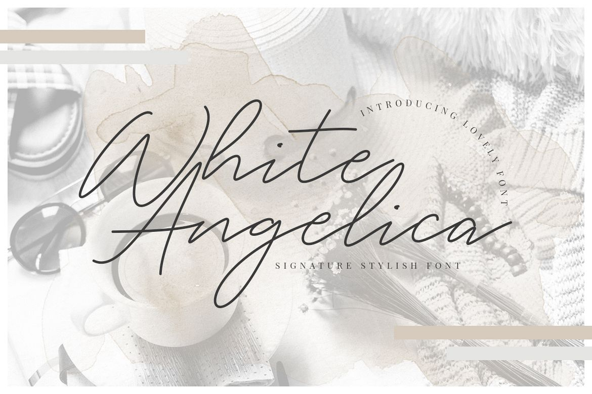 White Angelica Signature example image 1