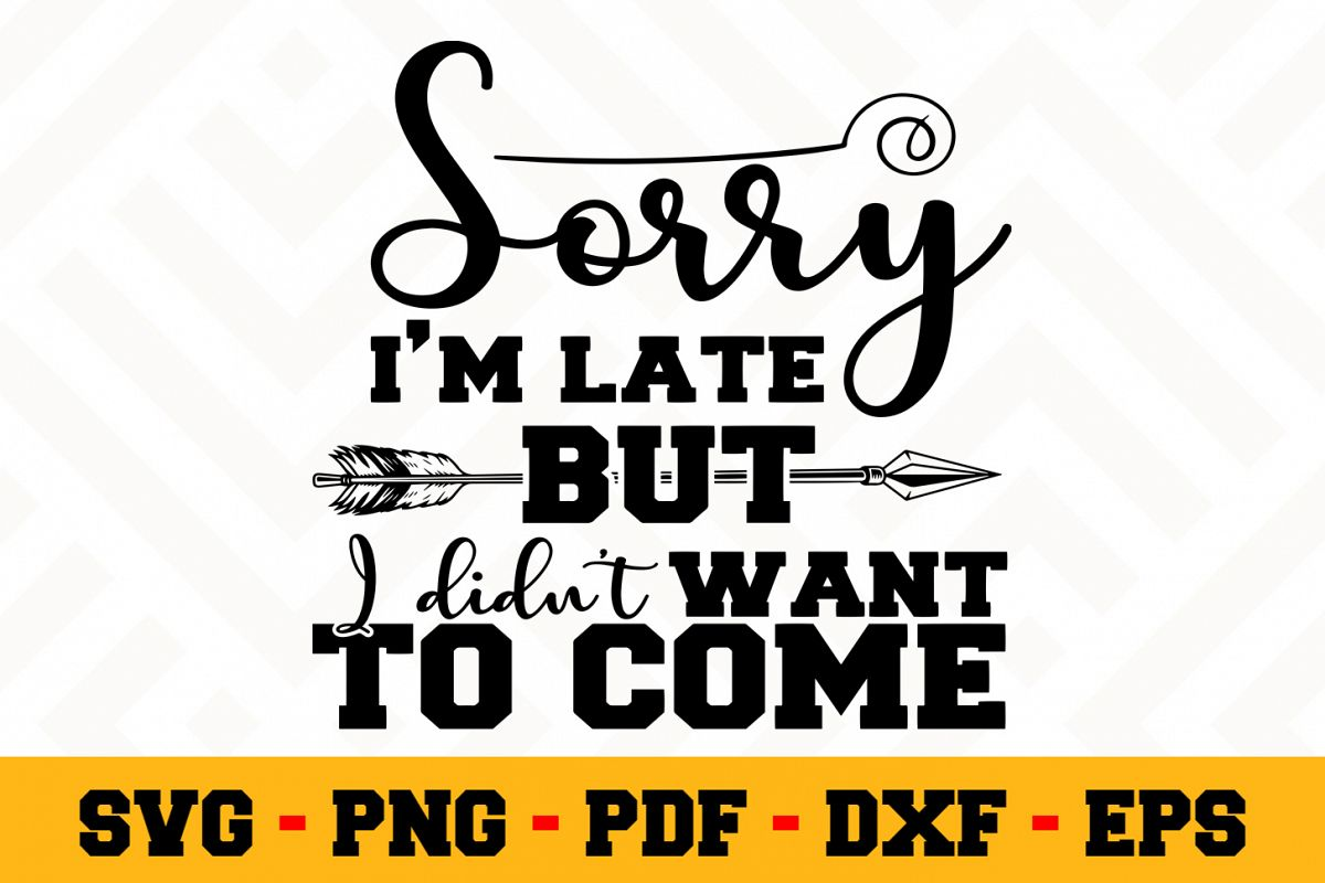Funny SVG Design n648 | Funny Quote SVG Cut File example image 1