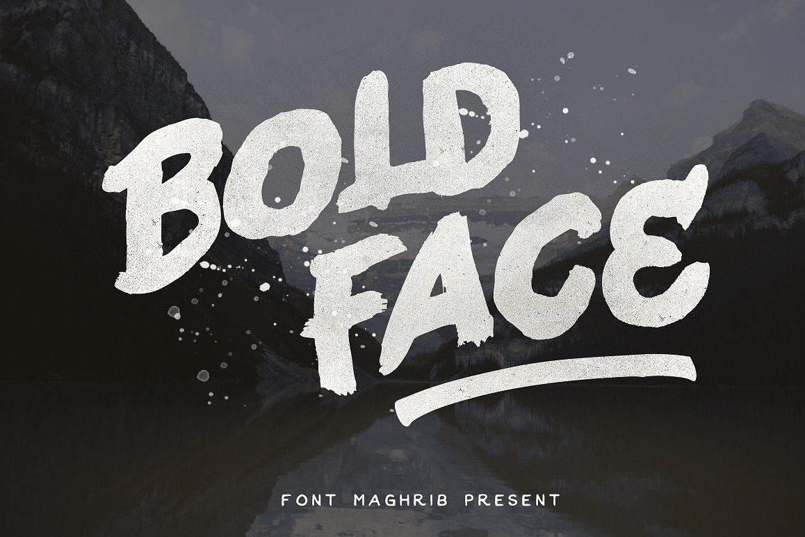 Bold Face example image 1
