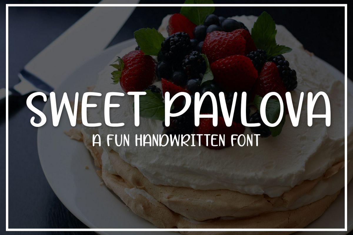 Sweet Pavlova example image 1