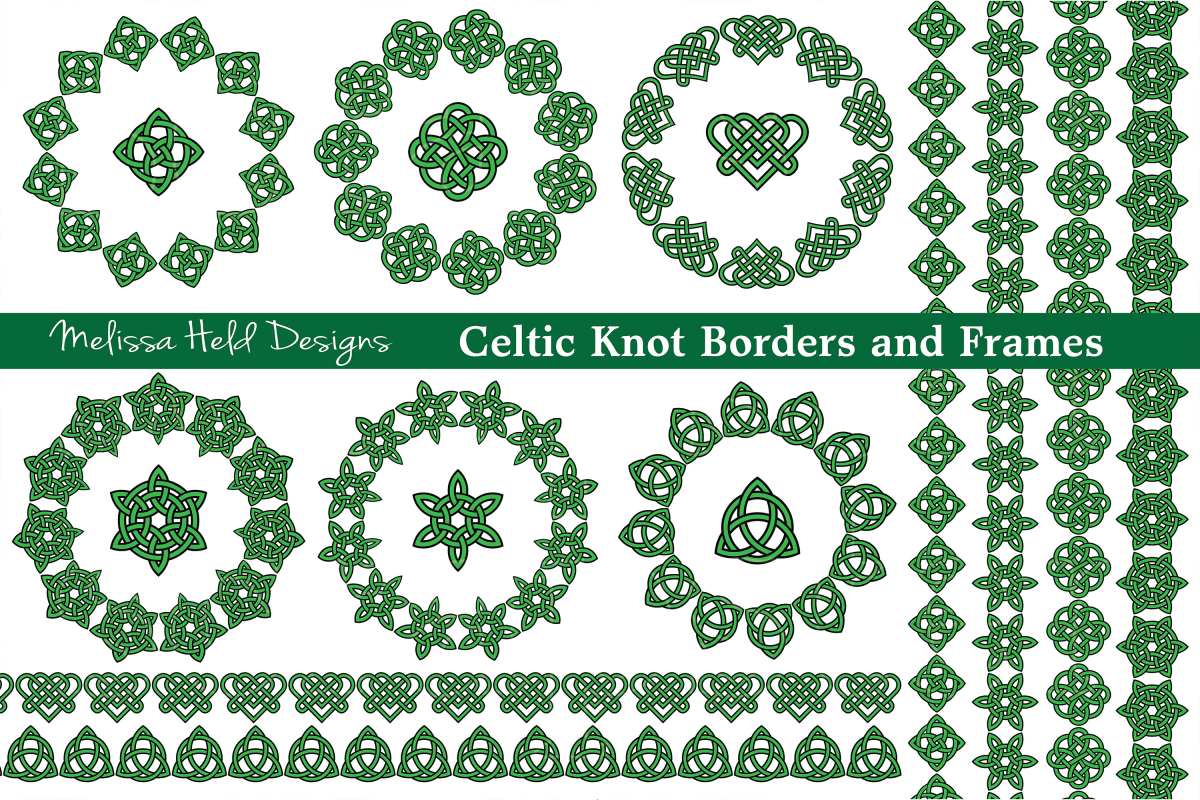 Celtic Frames and Borders example image 1