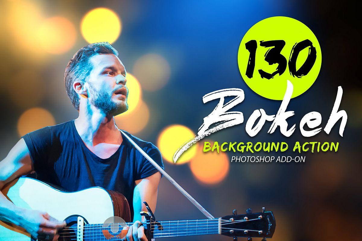 130 Bokeh Photoshop Action example image 1