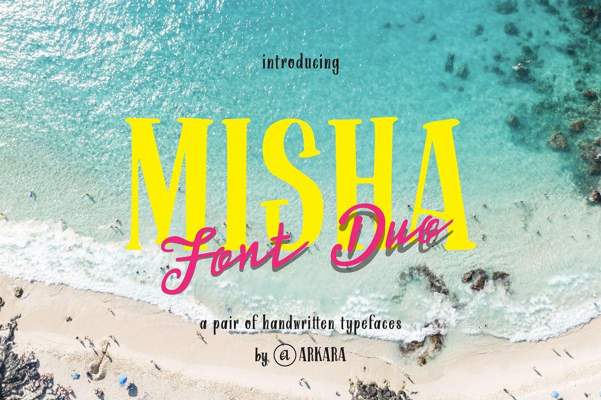 ARK Misha Font Duo example image 1