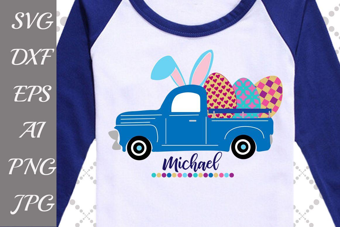 Easter Truck Svg: