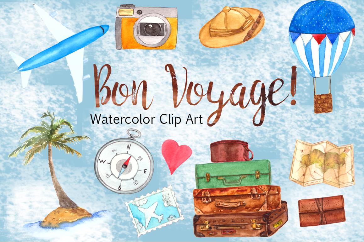 Bon Voyage Clip Art