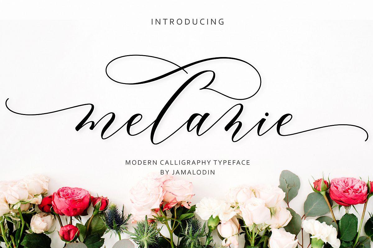 Melanie Script example image 1