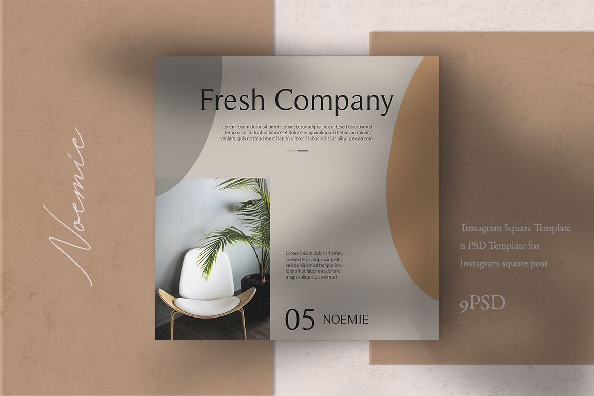 Interior Instagram Templates example image 1