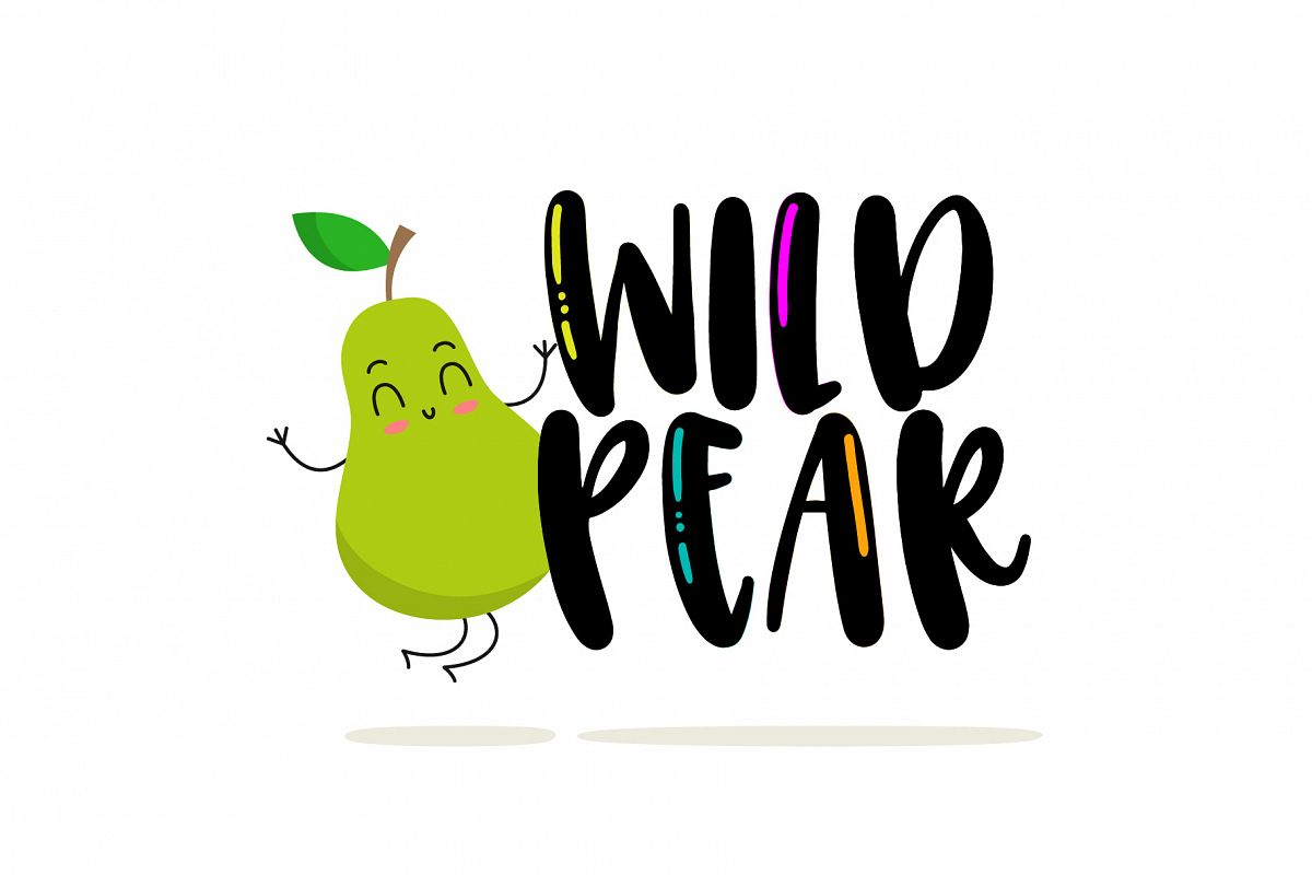 Wild Pear example image 1