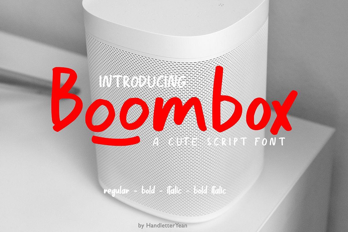 Boombox example image 1