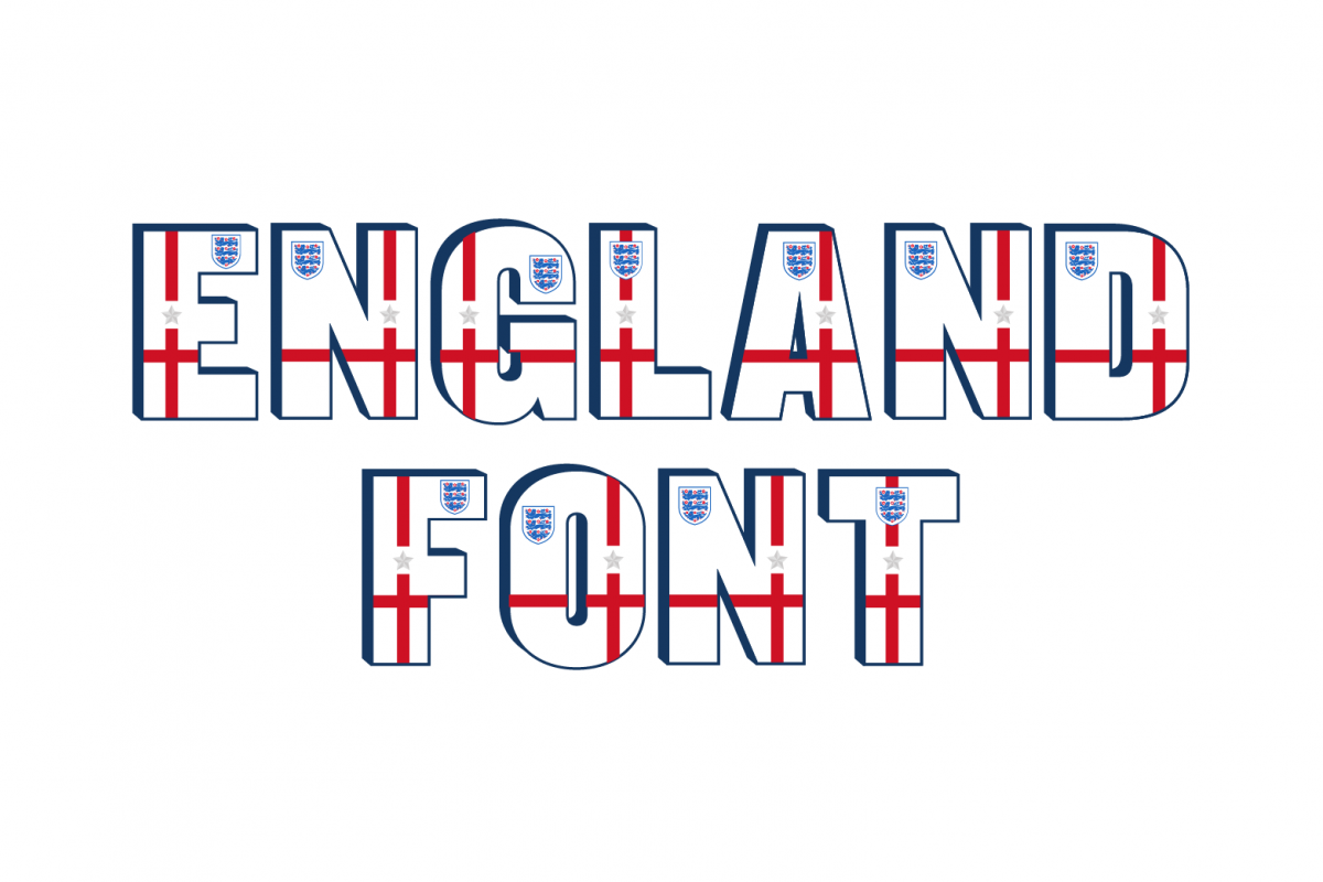England Font example image 1