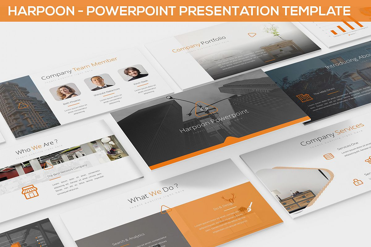 Harpoon - Powerpoint Presentation Template