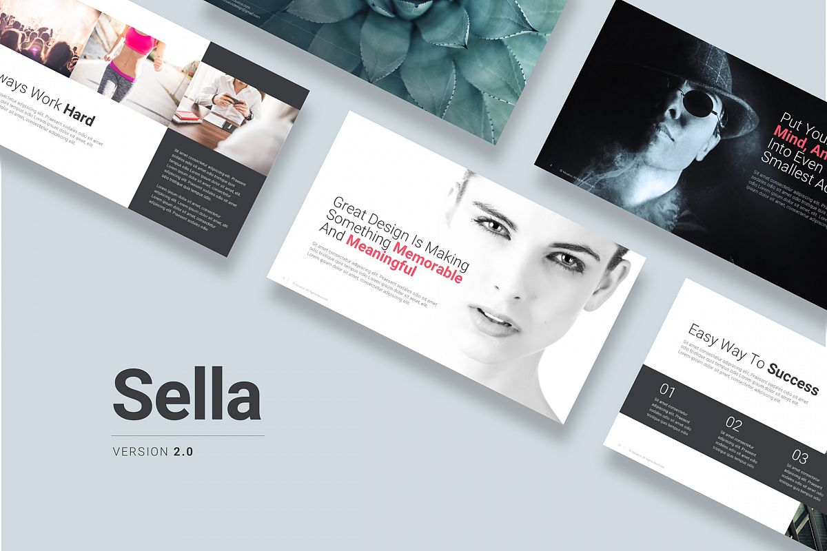 Sella 20 Keynote Template