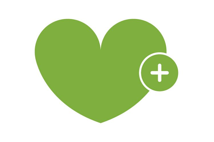 Add heart icon example image 1
