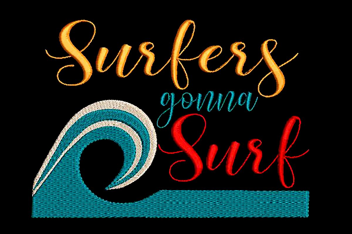 Surfers gonna surf example image 1
