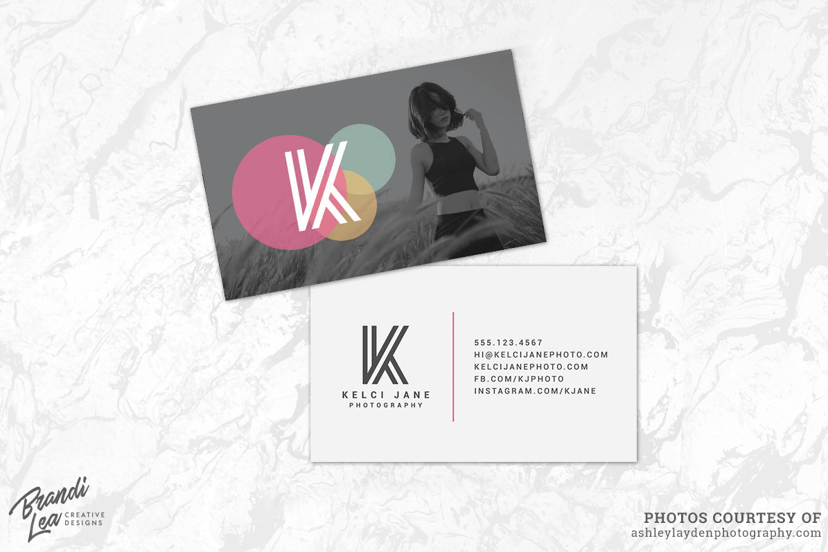 photography business card template example image 1 - Photography Business Cards