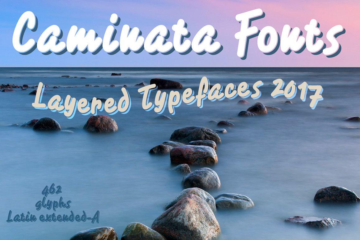 Caminata fonts example image 1