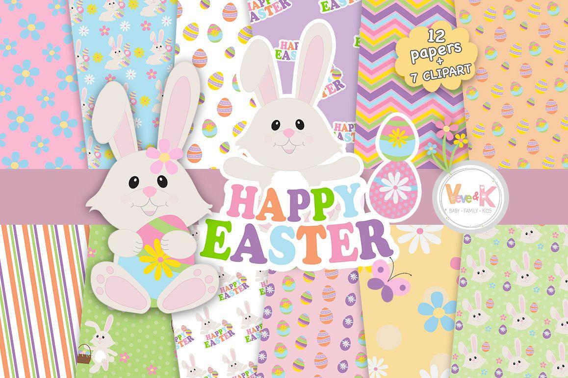 Bunny spring. Easter clip art clipart