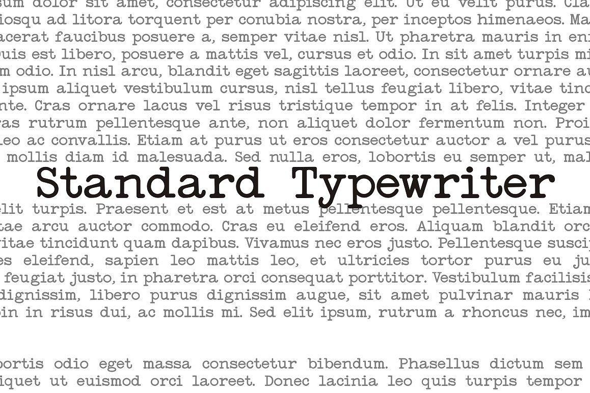 Standard Typewriter example image 1