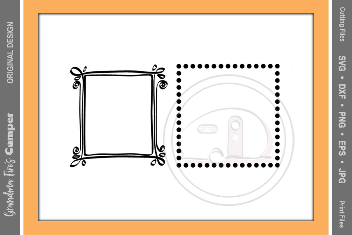 Frames SVG, Fun Craft Frames, Two Frames