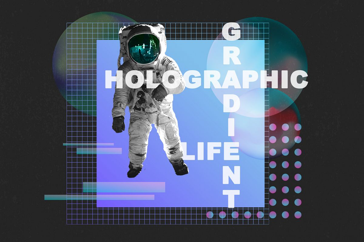 Holographic gradient life example image 1