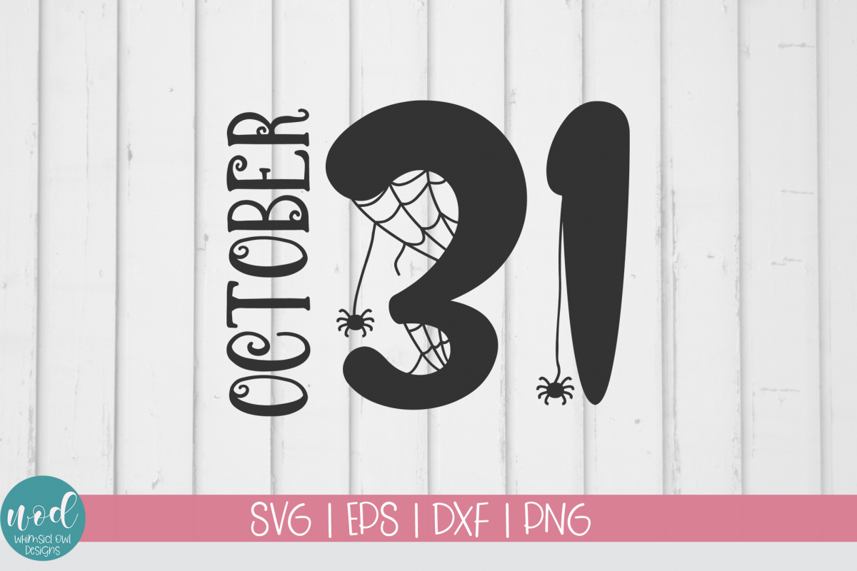 October 31 SVG File example image 1