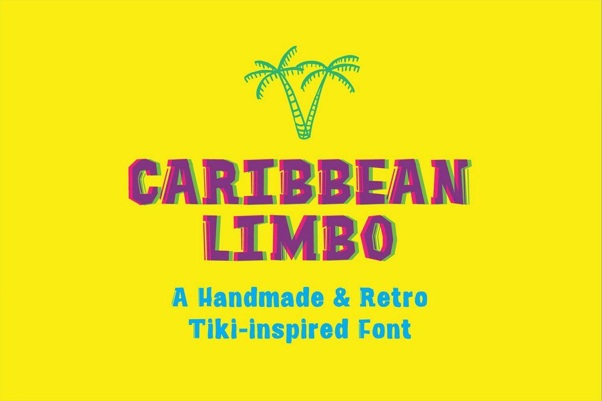 Caribbean Limbo | Vintage Tiki Fun example image 1