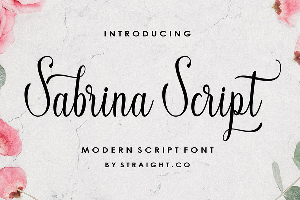 Sabrina Script example image 1