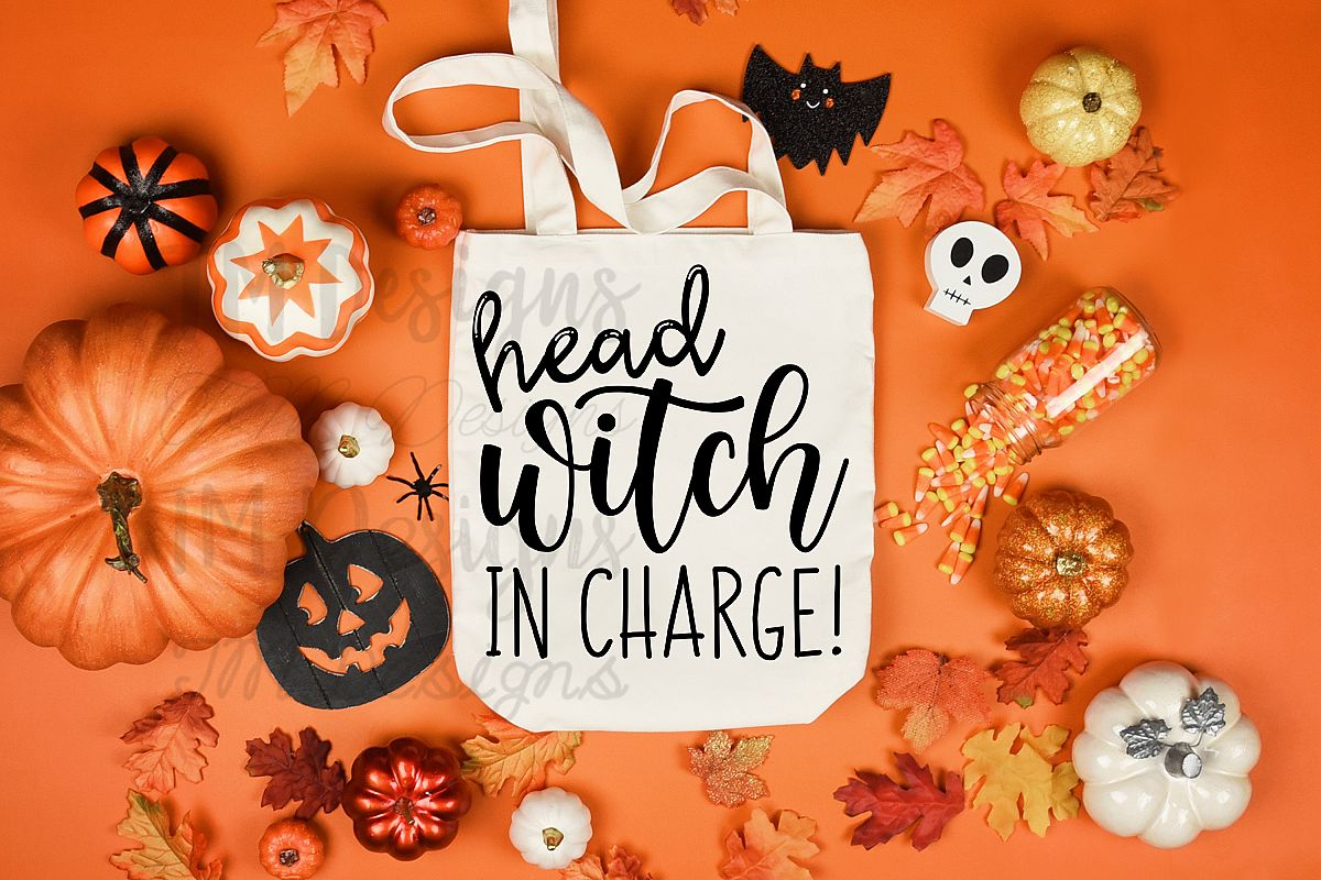Head Witch in Charge SVG example image 1