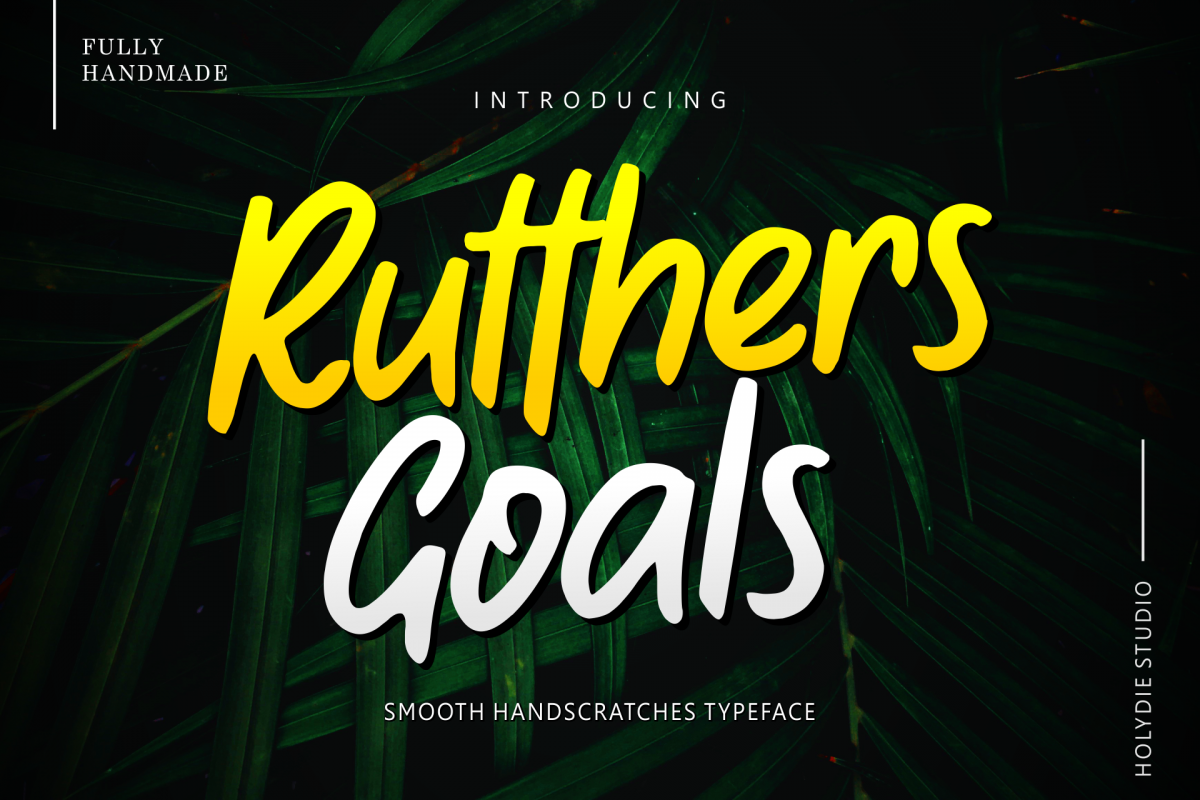 Rutthers Goals example image 1
