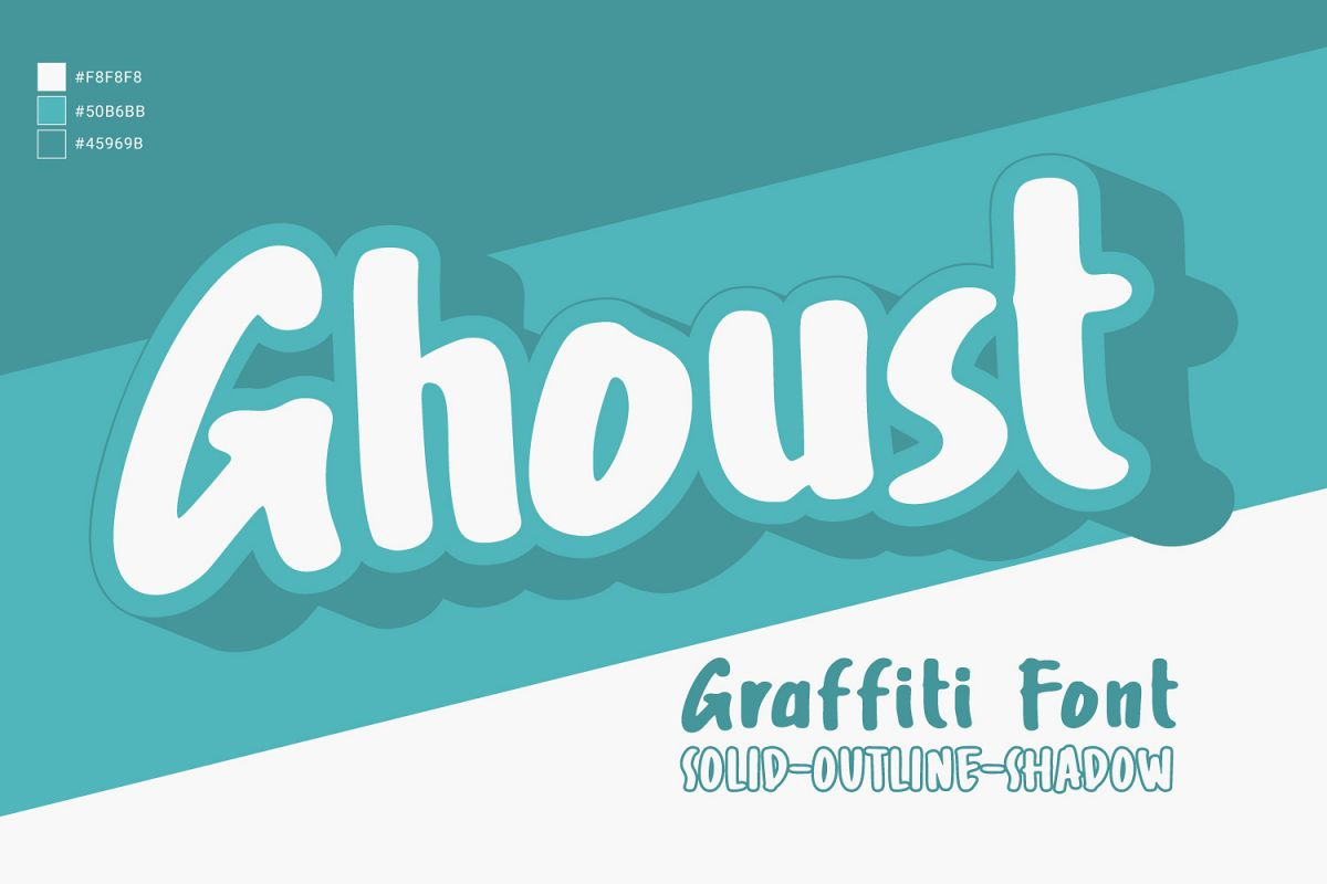 Ghoust Graffiti example image 1
