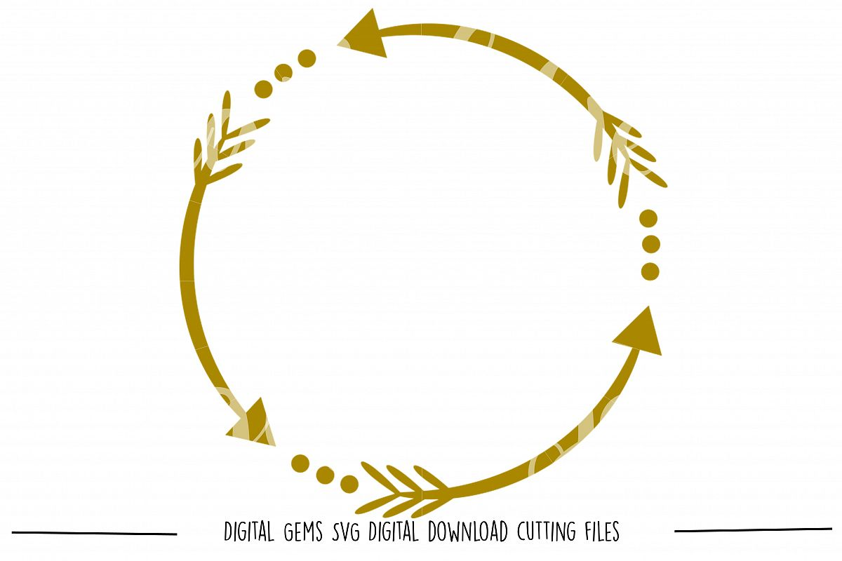 Tribal Arrow SVG / DXF / EPS / PNG files example image 1