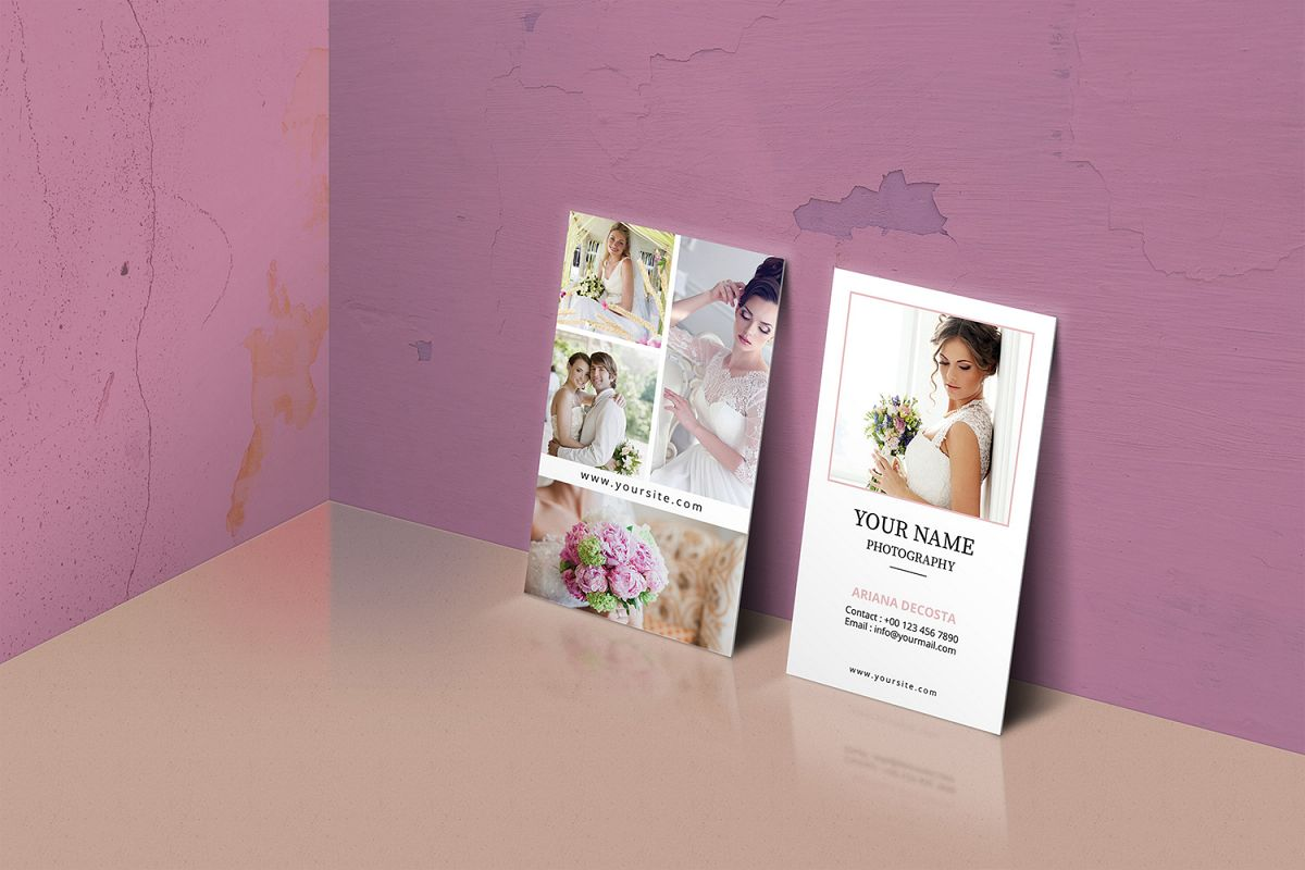 Photographer Business Card example image 1