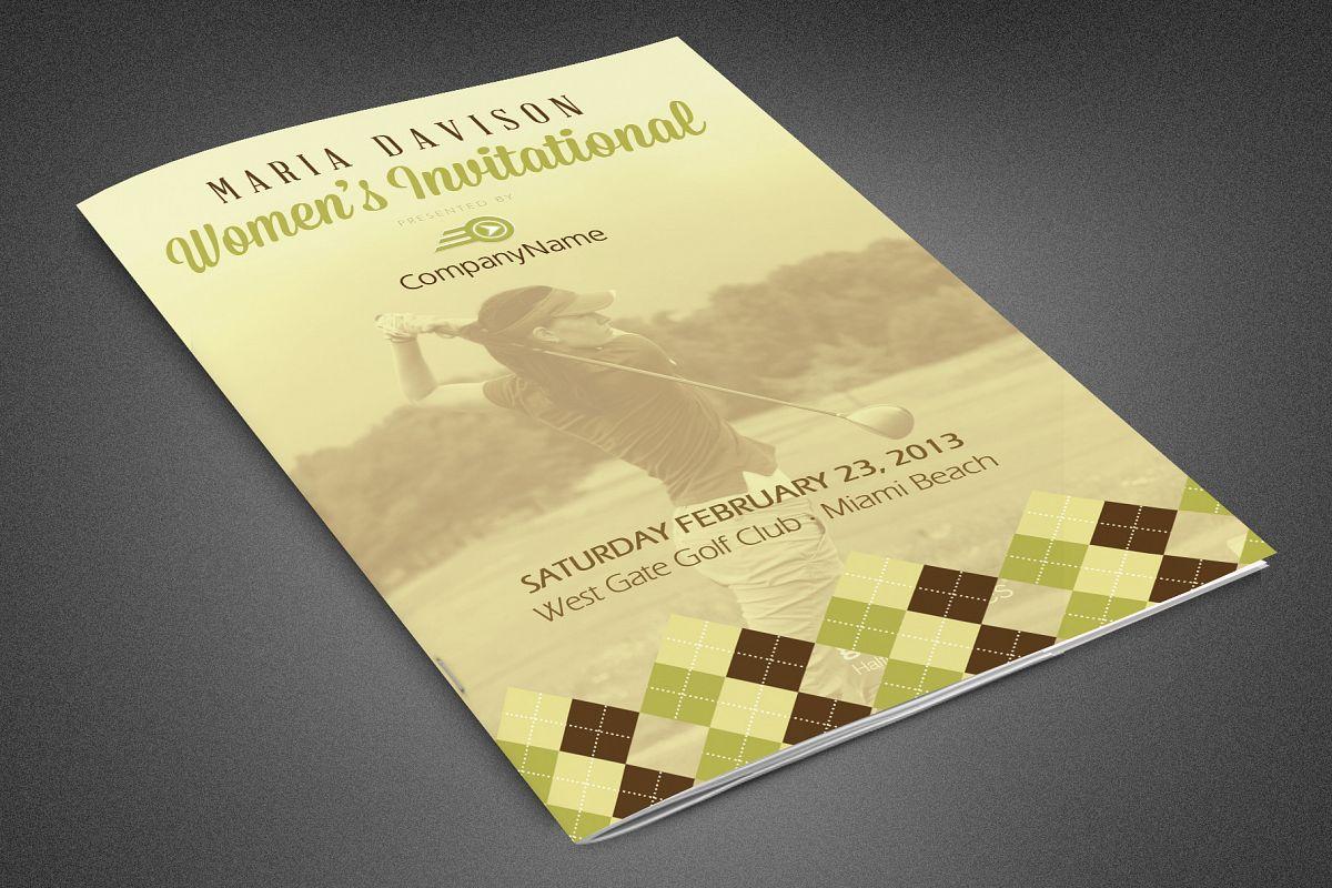Women's Invitational Booklet example image 1
