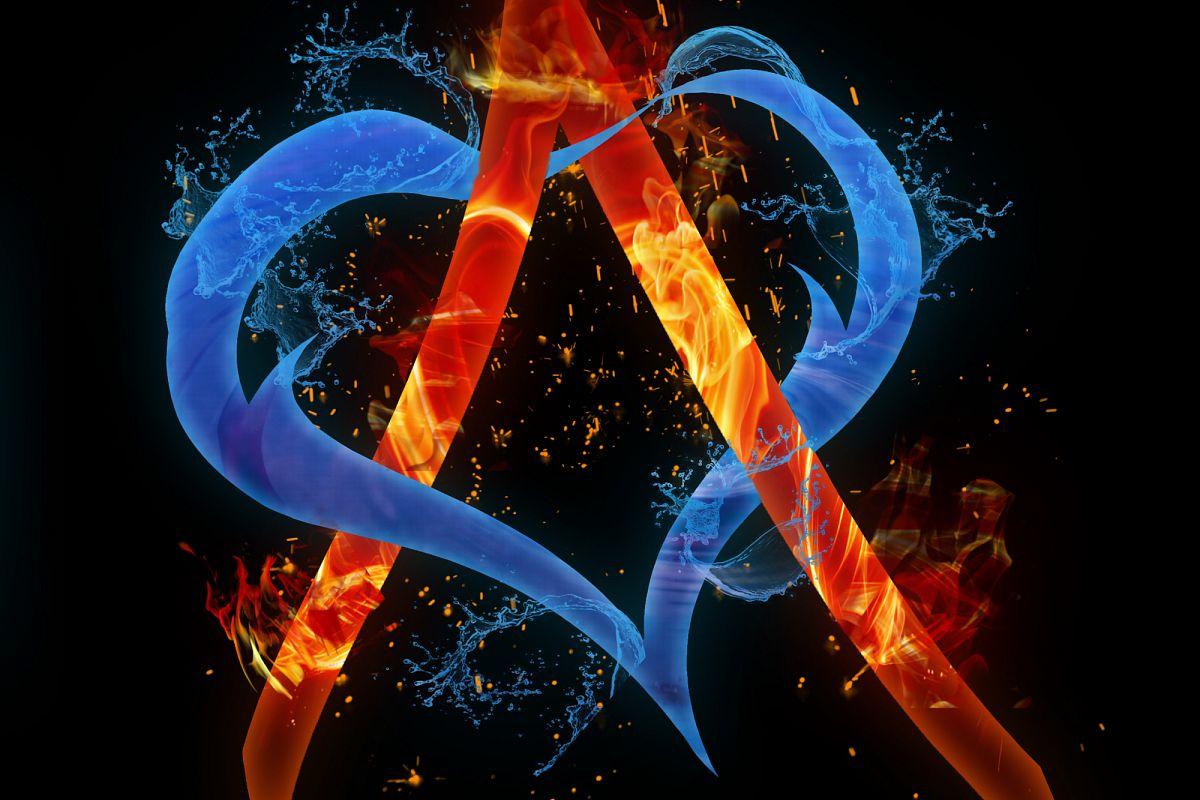 Alphabet A example image 1