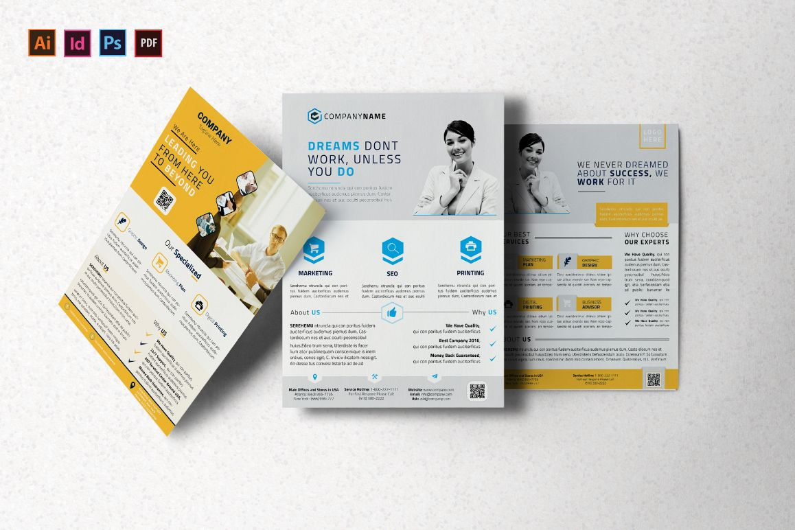 Corporate Flyer example image 1