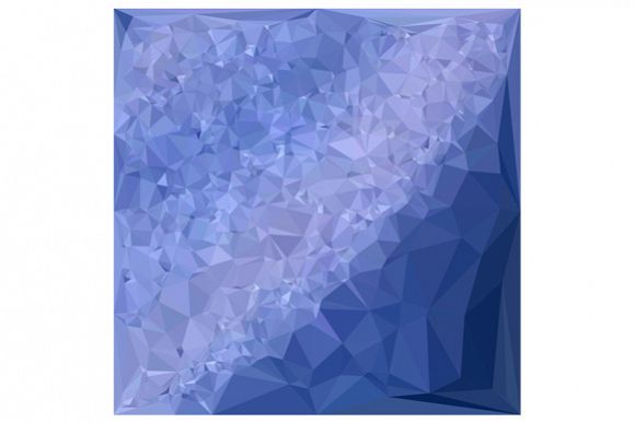 Steel Blue Abstract Low Polygon Background example image 1